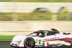 #2 Peugeot Talbot Sport Peugeot 905C: Philippe Alliot, Mauro Baldi, Jean-Pierre Jabouille