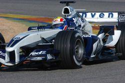 Mark Webber prueba el nuevo Williams BMW FW27