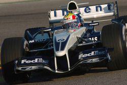 Mark Webber test ediyoryeni Williams BMW FW27