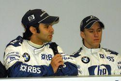 Antonio Pizzonia et Nick Heidfeld