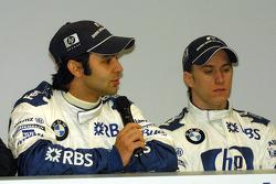 Antonio Pizzonia and Nick Heidfeld