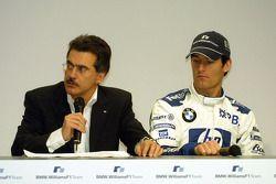 Dr Mario Theissen ve Mark Webber