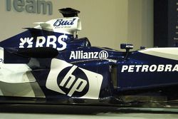 Detail of the new Williams BMW FW27