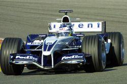 Nick Heidfeld test ediyoryeni Williams BMW FW27