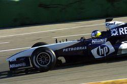 Nick Heidfeld teste la nouvelle Williams BMW FW27