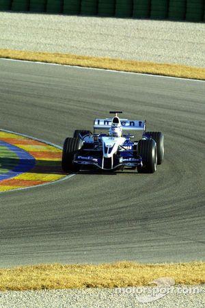 Nick Heidfeld test de nieuwe Williams BMW FW27