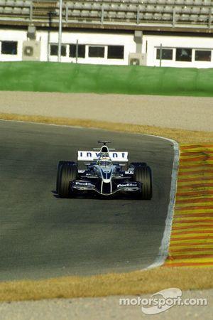 Nick Heidfeld tests the new Williams BMW FW27