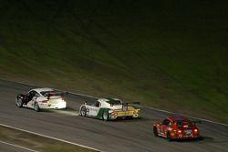 #14 Autometrics Motorsports Porsche GT3 Cup: Leh Keen, Cory Friedman, Steve Johnson, Al Bacon, #02 New Century Mtg/ Chip Ganassi w/Sabates Lexus Riley: Stefan Johansson, Jamie McMurray, Cort Wagner, #73 Baldwin-Tafel Racing Porsche GT3 Cup: Jack Baldwin,
