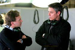 Direktör Christian Horner ve Tony Burrows