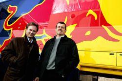 Direktör Christian Horner ve Teknik Direktörü Guenther Steiner