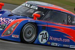 #74 Robinson Racing Lexus Riley: George Robinson, Wally Dallenbach Jr., Paul Dallenbach, Johnny Unser