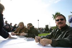 Derek Bell, Bobby Labonte and Terry Labonte