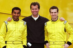 Narain Karthikeyan, Trevor Carlin Direktör Midland F1 ve Tiago Monteiro