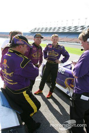 Danny Lasoski, Dave Marcis and Sébastien Bourdais