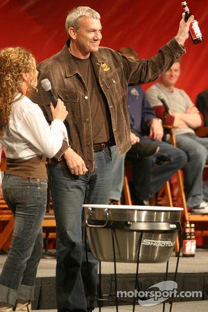 Dale Jarrett draws the #1 bottle good for the Bud Shootout pole