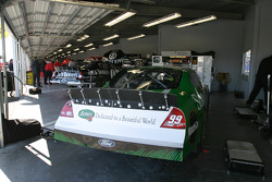 Roush Racing garage area