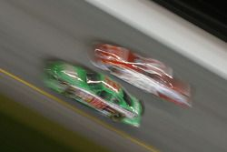 Artistic impression of Bobby Labonte and Ricky Rudd at speed
