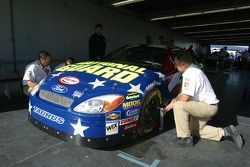 Technical inspection for the Shootout cars