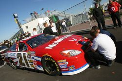 Motorcraft Ford at technical inspection