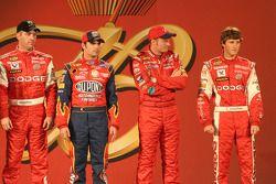 Drivers presentation: Jeremy Mayfield, Jeff Gordon, Dale Earnhardt Jr. and Kasey Kahne