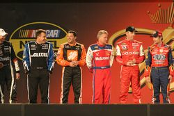 Drivers presentation: Ryan Newman, Tony Stewart, Ricky Rudd, Jeremy Mayfield and Jeff Gordon