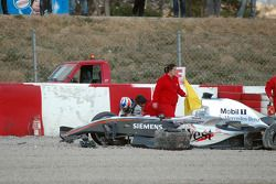 Kimi Raikkonen still shaken