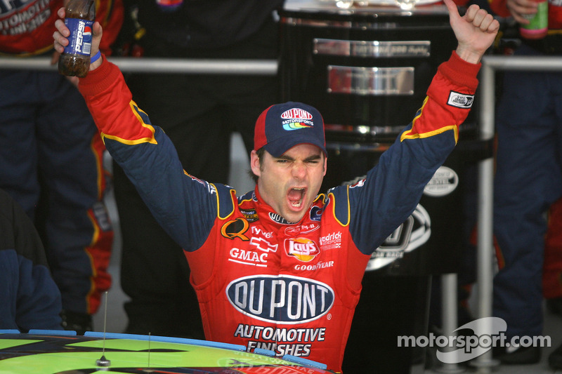 2005, Daytona 500: Jeff Gordon (Hendrick-Chevrolet)