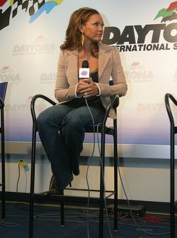 Press conference: National Anthem singer Vanessa Williams