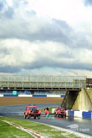 Marshals clear track