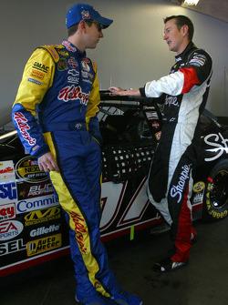Kyle and Kurt Busch