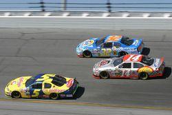 Kyle Busch, Bobby Hamilton Jr. and John Andretti