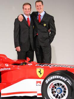Rubens Barrichello ve Michael Schumacher