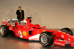 Jean Todt presents yeni Ferrrari F2005