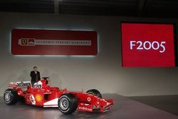 Jean Todt presents the new Ferrrari F2005