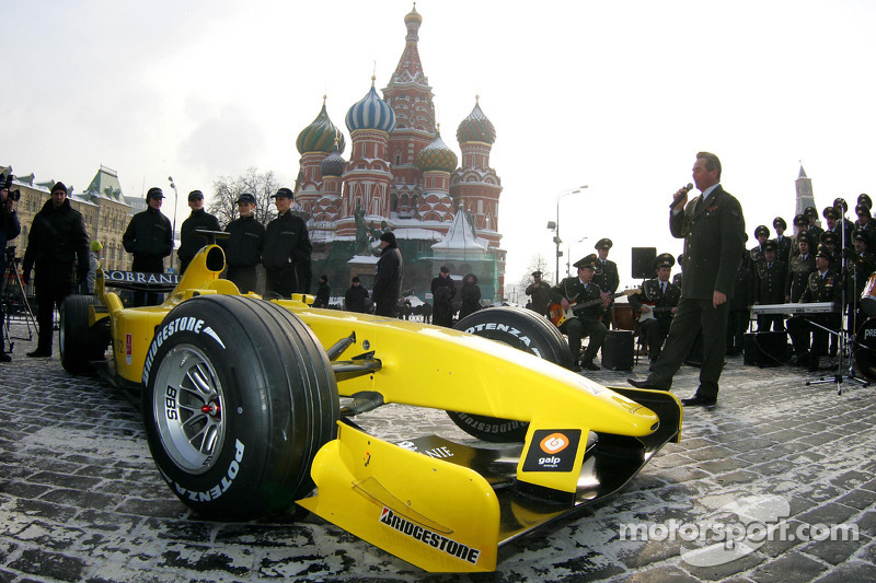 Jordan at Moscow's Red Square (2005)