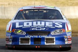 Adrian Fernandez tests the Lowe's Chevy