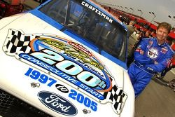 200th straight start in Craftsman Truck Series for Rick Crawford