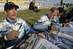 Max Papis and Jorg Bergmeister