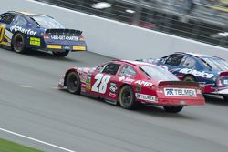 Derrike Cope, Clint Bowyer and Carl Edwards