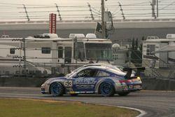 Spin for #63 Auto Gallery/ TRG Porsche GT3 Cup: Dave Master, Marc Sluszny, Derek Clark, Pat Flanagan