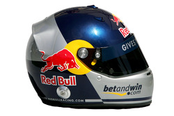 Red Bull Racing: casco de Christian Klien