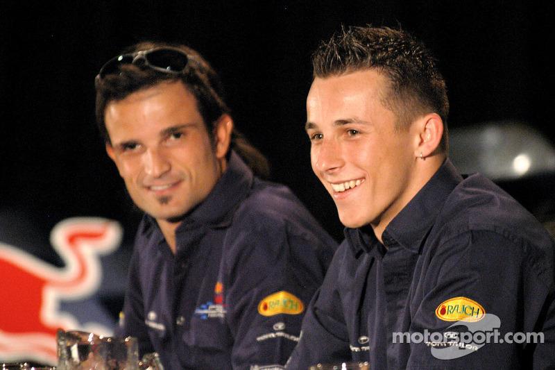 Red Bull Racing: Vitantonio Liuzzi y Christian Klien