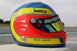 Helmet of Ryan Sharp
