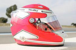 Helmet of Alexandre Negrao