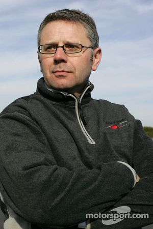 Team manager David Hayle