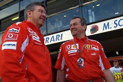 Ross Brawn and Nigel Stepney