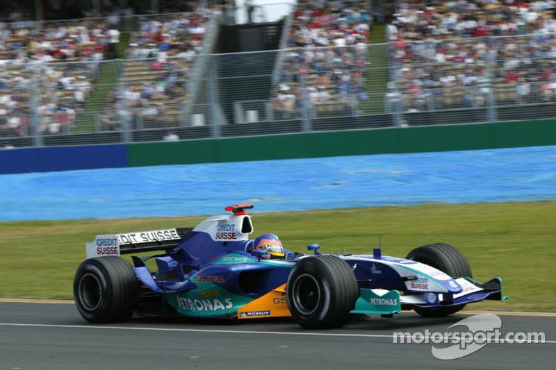 Jacques Villeneuve, Sauber-Petronas C24, 2005