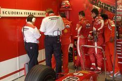 Final del día para Michael Schumacher
