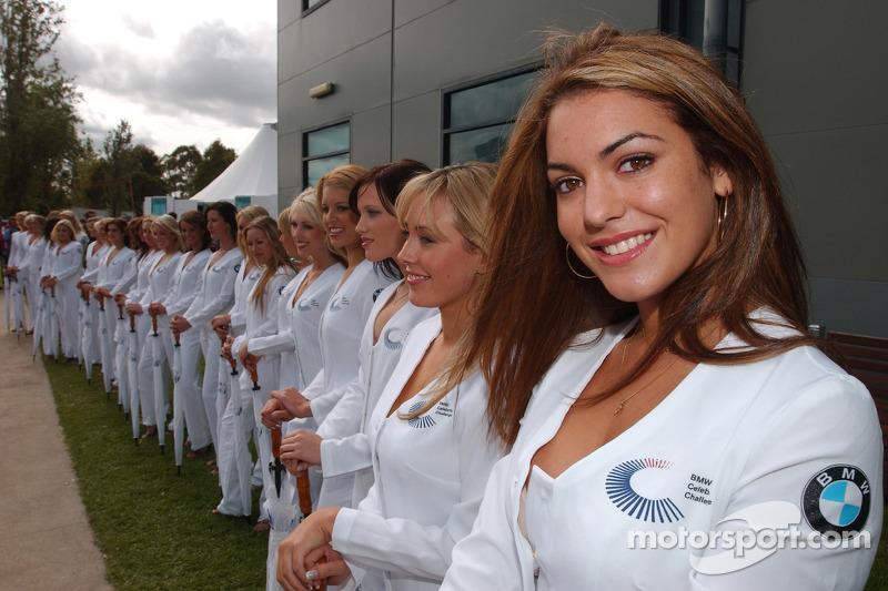 Las chicas de la parrilla del BMW Celebrity Challenge