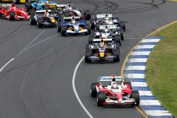 Primera curva: Jarno Trulli